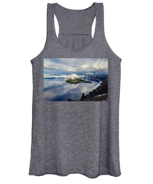 Crater Lake Storm Women's Tank Top