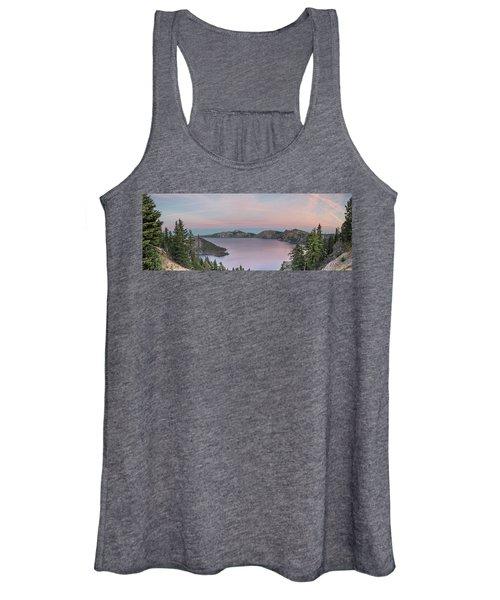 Crater Lake Sunset Women's Tank Top