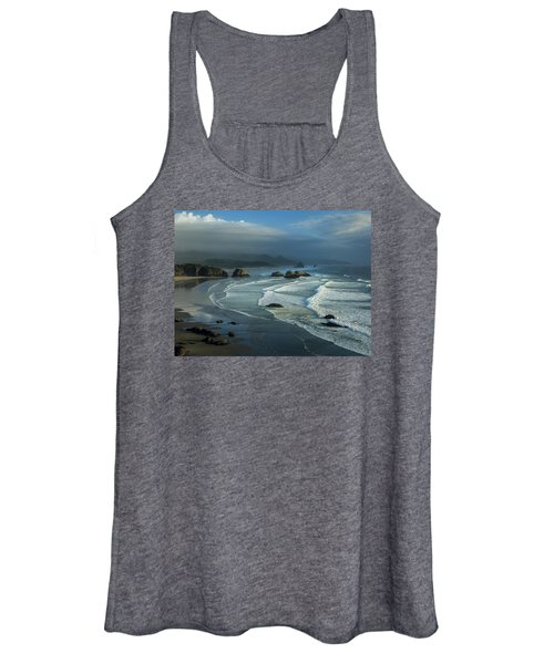 Crescent Beach And Surf Women's Tank Top