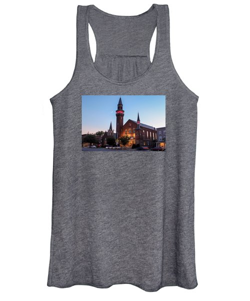 Crescent Moon Old Town Hall Women's Tank Top