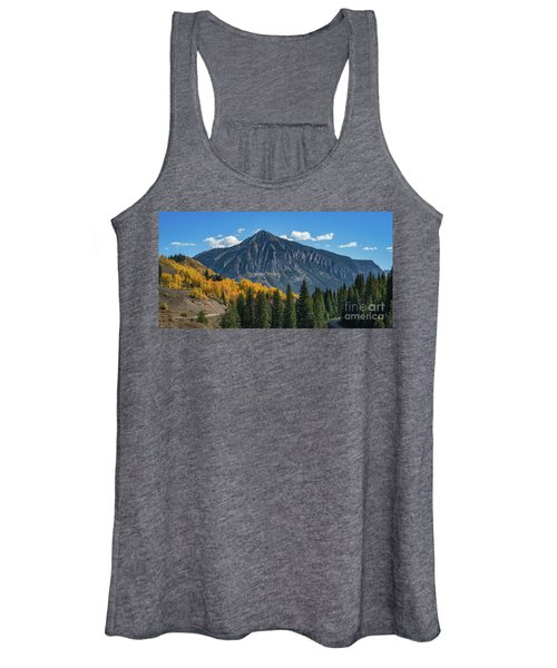 Crested Butte Mountain Women's Tank Top
