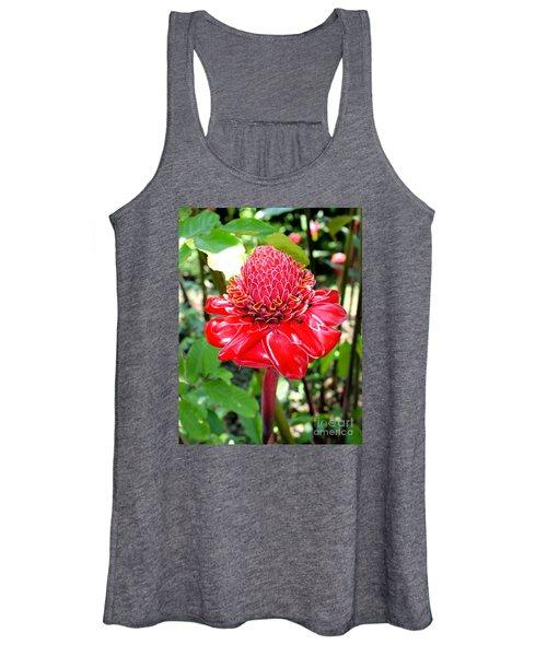 Crimson Bloom Women's Tank Top