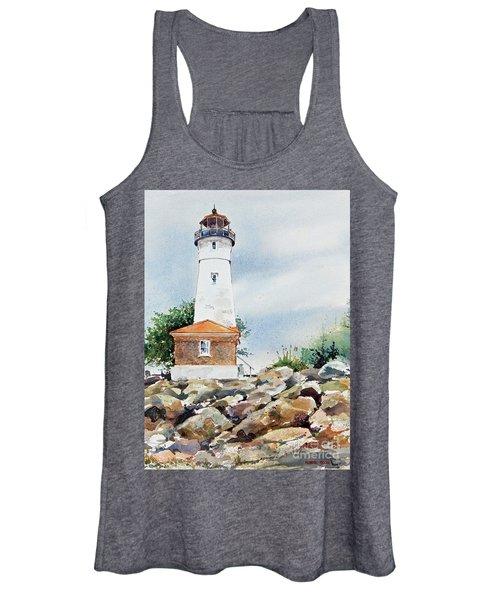 Crisp Lighthouse Women's Tank Top