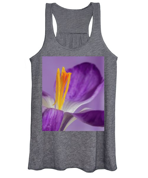 Crocus Stamens  Women's Tank Top