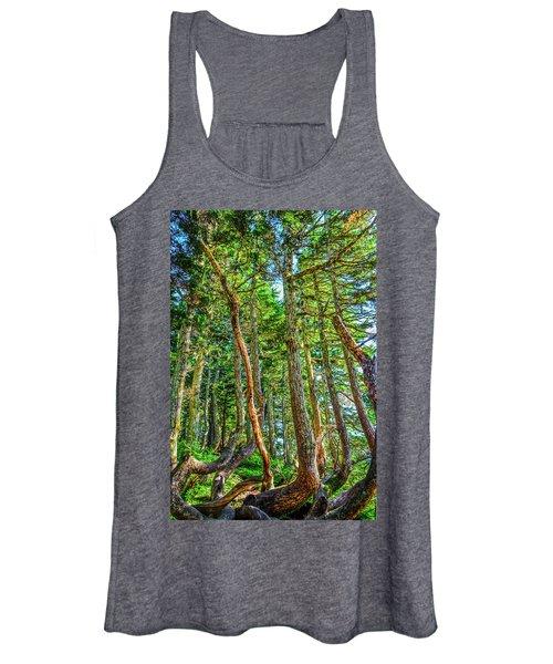 Crooked Trees Of Mt Roberts Women's Tank Top