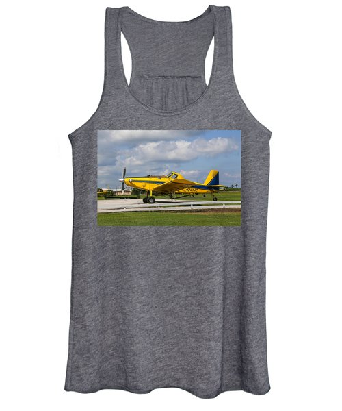 Crop Duster Women's Tank Top