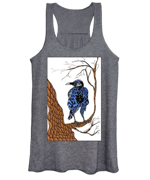 Crow Women's Tank Top