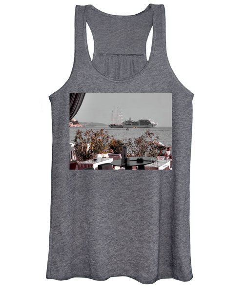 Cruising Past And Present Women's Tank Top