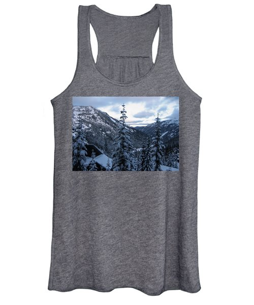 Crystal Mountain Dawn Women's Tank Top