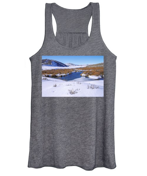 Currant Creek On Ice Women's Tank Top
