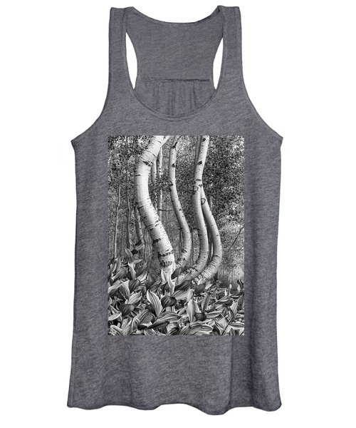 Curved Aspens Women's Tank Top