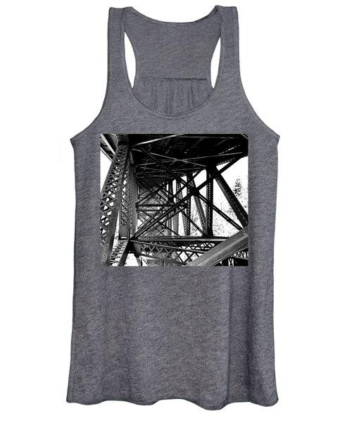 Cut River Bridge Women's Tank Top