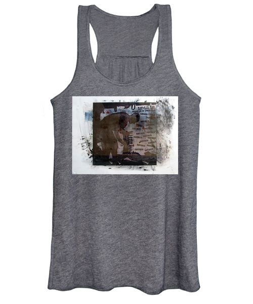 D U Rounds Project, Print 1 Women's Tank Top
