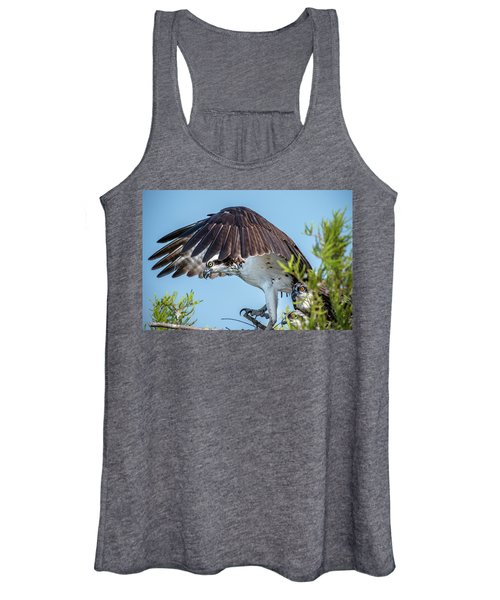 Daddy Osprey On Guard Women's Tank Top