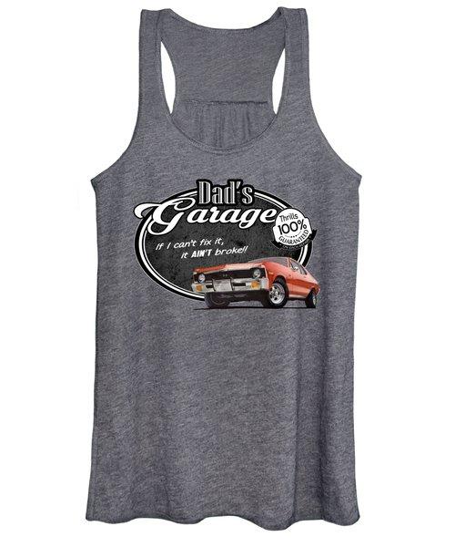 Dad's Garage With Nova Women's Tank Top