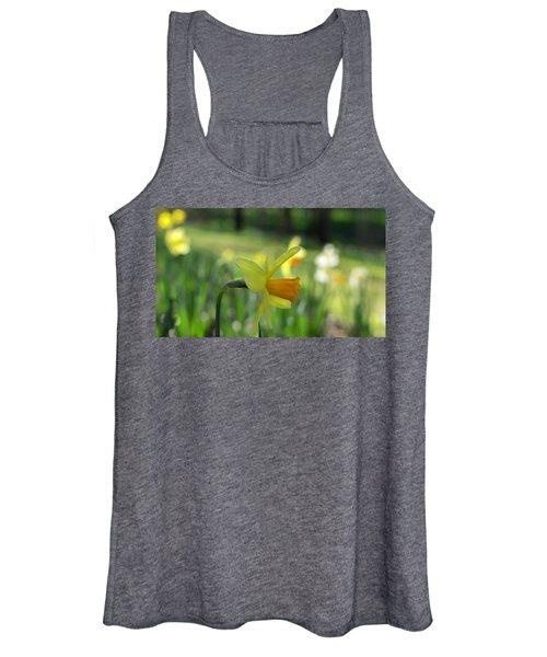 Daffodil Side Profile Women's Tank Top