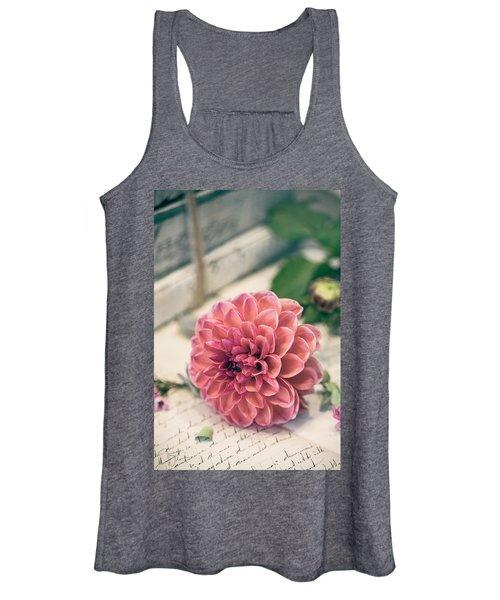 Dahlia Bloom Women's Tank Top