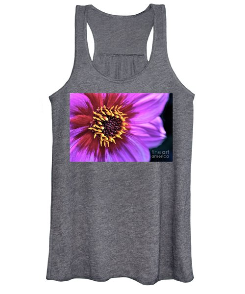 Dahlia Flower Portrait Women's Tank Top