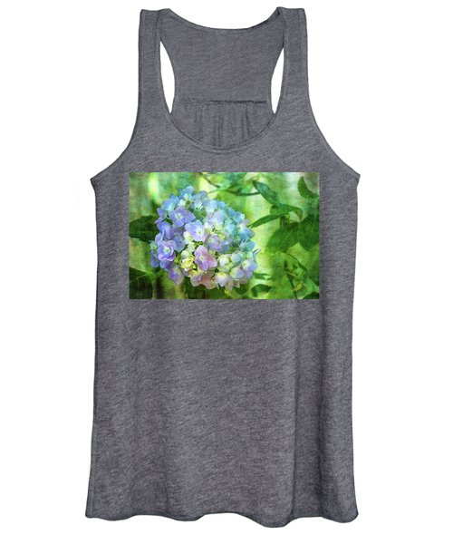 Dappled Light Hydrangea 2300 Idp_2 Women's Tank Top
