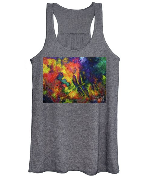 Darling Darker Dragonfly Women's Tank Top