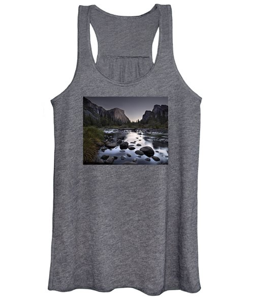 Dawn At Yosemite Gate Women's Tank Top