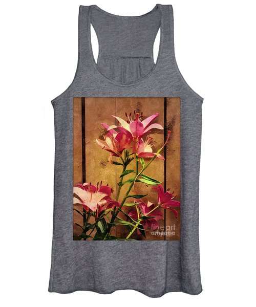 Dayliliys In  Guilford , Conn Women's Tank Top