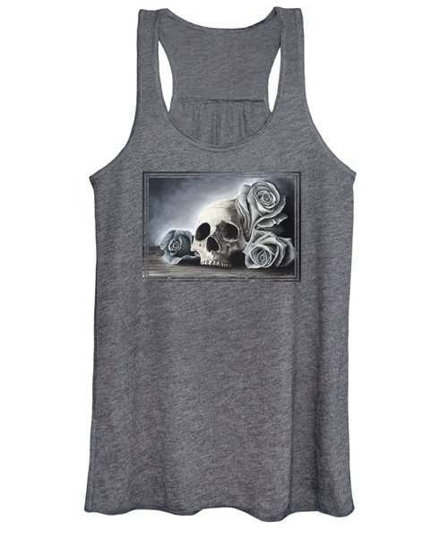 Death By The Rose Women's Tank Top