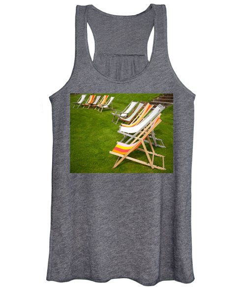 Deck Chairs Women's Tank Top