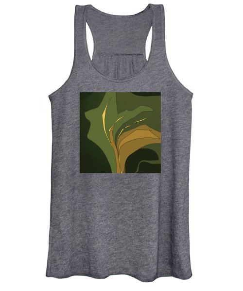 Women's Tank Top featuring the digital art Deco Tile by Gina Harrison