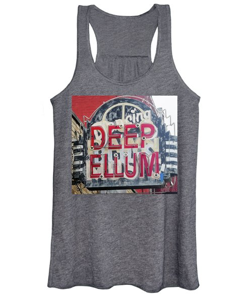 Deep Ellum Dallas Texas Women's Tank Top