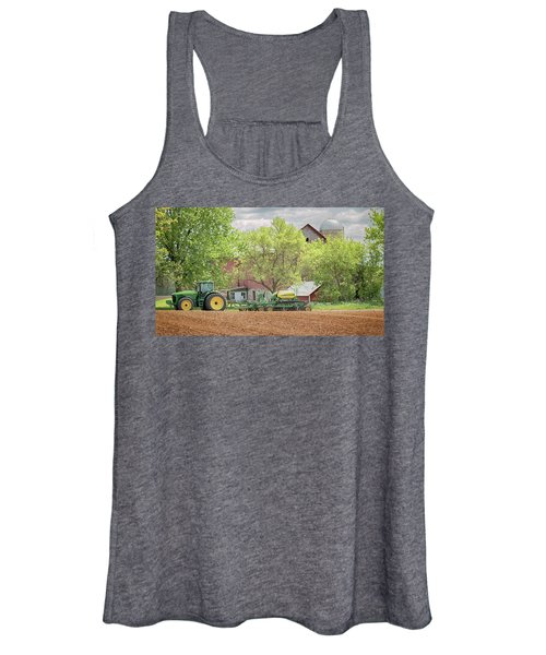 Deere On The Farm Women's Tank Top