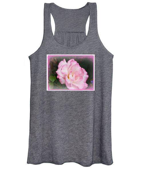 Delicate Pink Petals Women's Tank Top