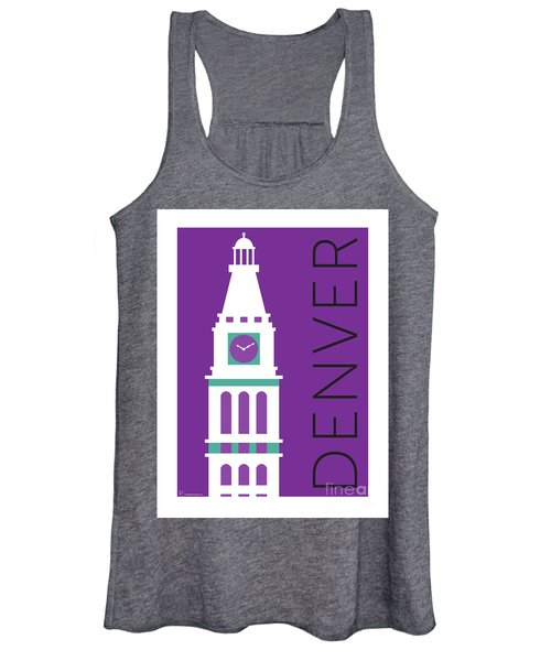 Denver D And F Tower/purple Women's Tank Top