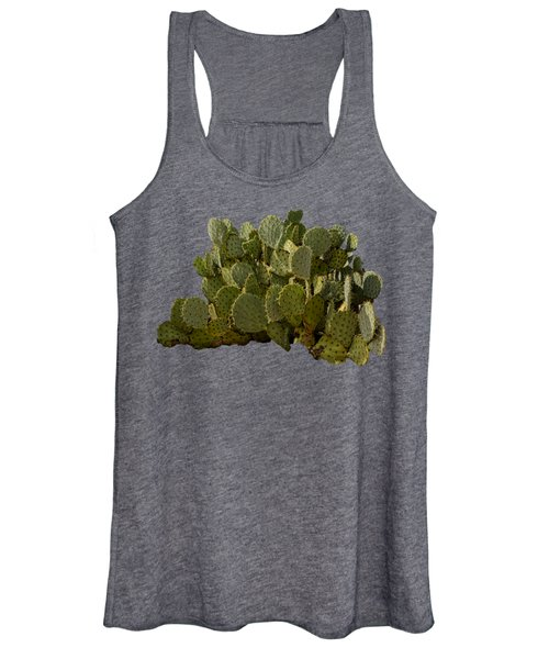 Desert Prickly-pear No6 Women's Tank Top