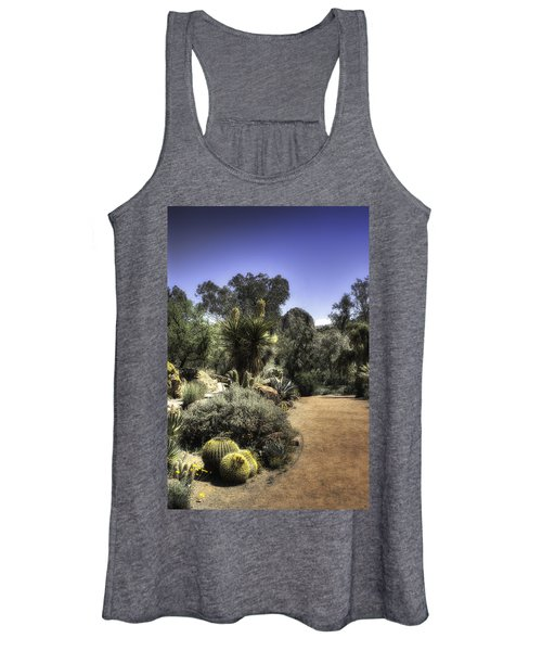 Desert Walkway Women's Tank Top