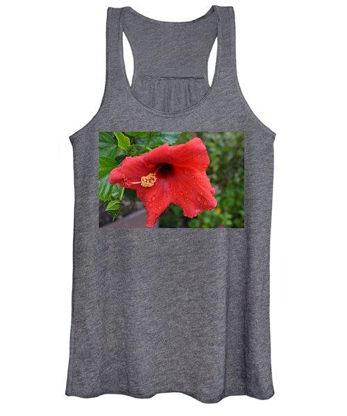 Dew On Flower Women's Tank Top