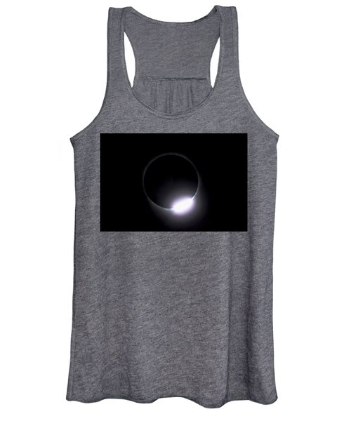 Diamond Ring During Solar Eclipse Women's Tank Top