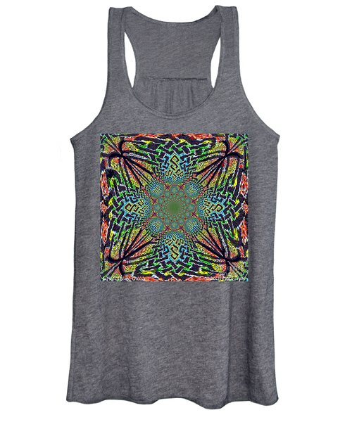 Dimensional Celtic Cross Women's Tank Top