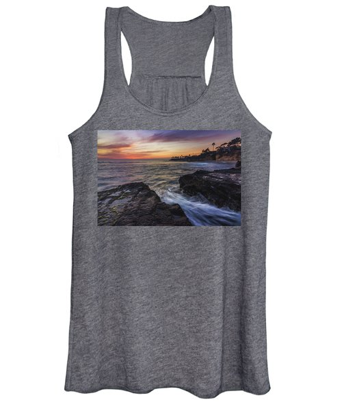 Diver's Cove Sunset Women's Tank Top