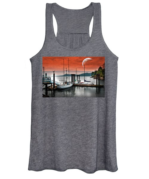 Dock And The Moon Women's Tank Top