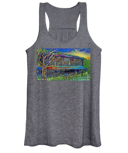 Dodds Creek Mill, ,floyd Virginia Women's Tank Top