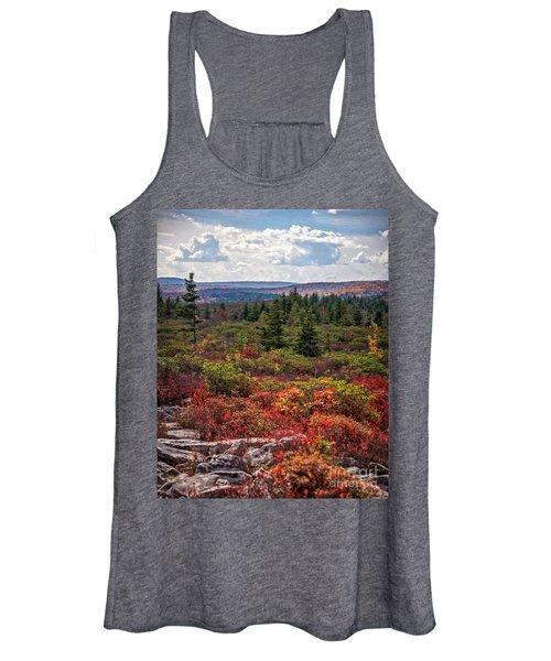 Dolly Sods Wilderness In Autumn 4273 Women's Tank Top