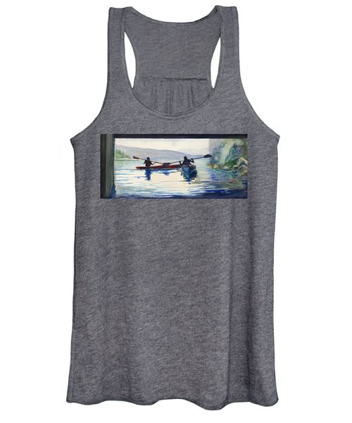 Donner Lake Kayaks Women's Tank Top