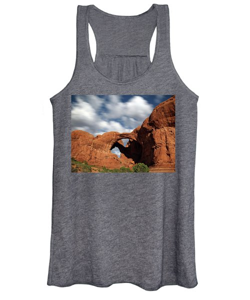 Double Arch In The Moonlight Women's Tank Top