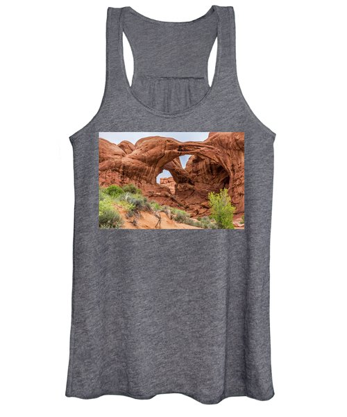 Double Arches, Arches National Park Women's Tank Top