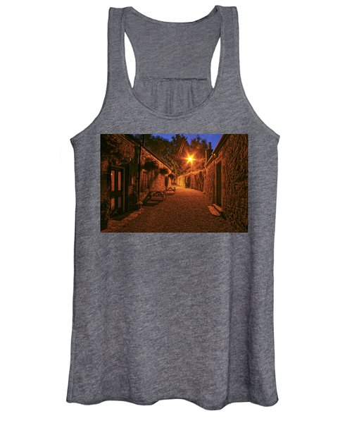 Down The Alley Women's Tank Top