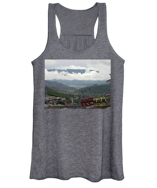 Down The Valley At Snowmass Women's Tank Top
