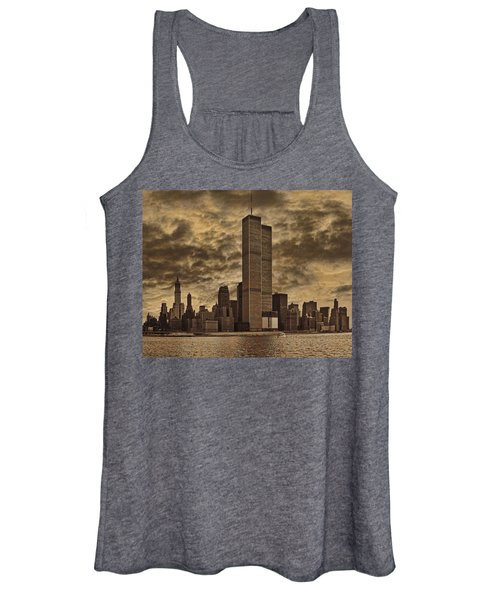 Downtown Manhattan Circa Nineteen Seventy Nine  Women's Tank Top