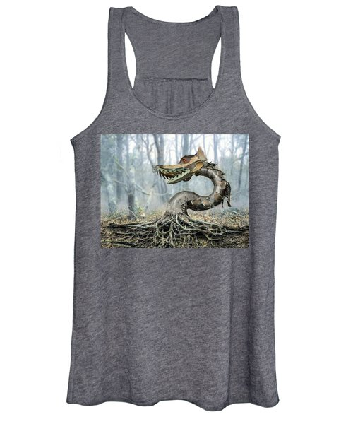 Dragon Root Women's Tank Top