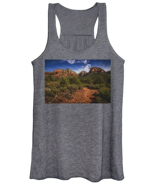 Dramatic Cloudscape Over Capitol Butte Women's Tank Top